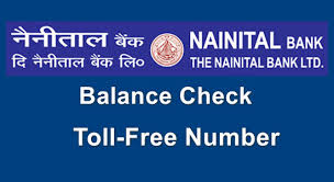 nainital bank customer care toll free number