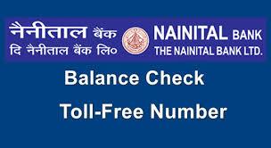 nainital bank customer care toll free number