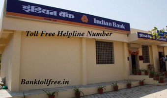 indian bank customer care helpline toll free number