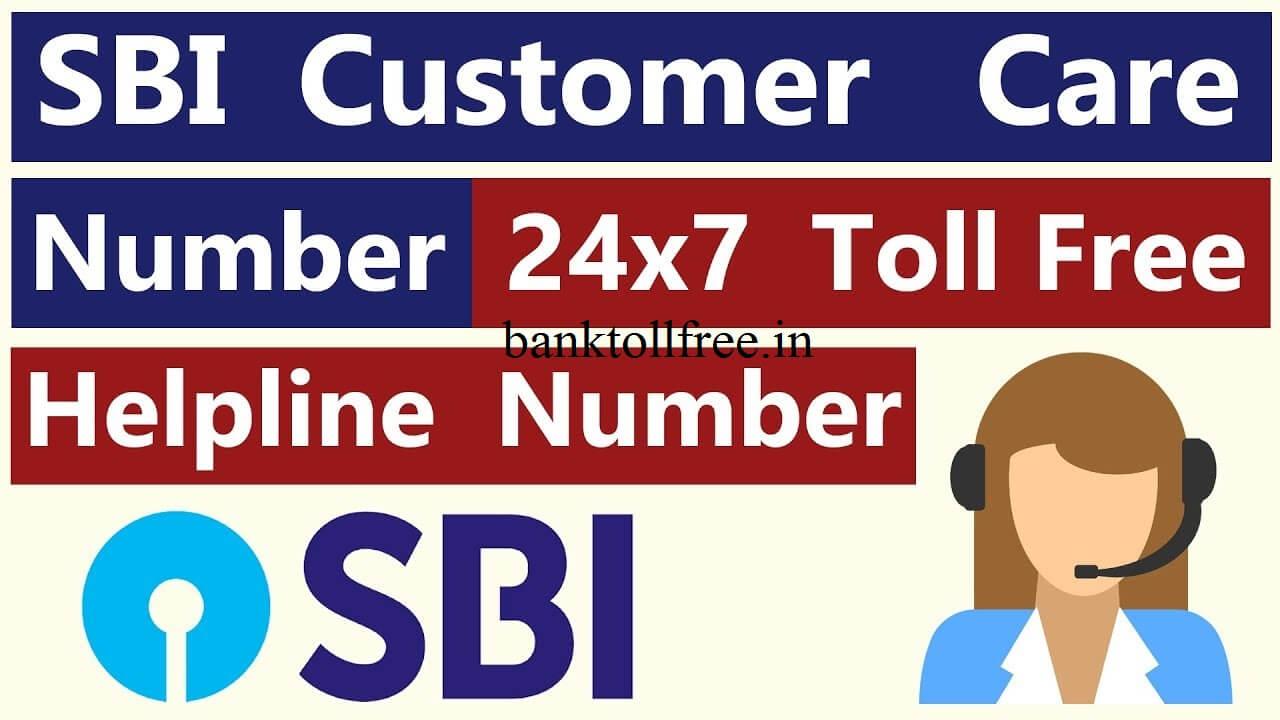 online sbi customer care number